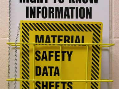 MSDS - Labels And Information
